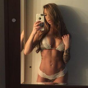 Lady Lace Olive Green Bikini